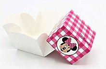 20 PZ Minnie Disney Party Scatola Fleur