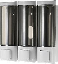 200ml * 3, tre a parete dispenser di sapone a