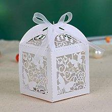 20x Scatole Portaconfetti farfalla matrimonio