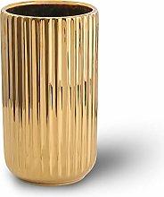 22CM oro Fiori Vaso Decorativo di Design Moderno