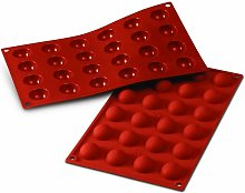 24 cavità semisfera silicone terracotta stampo