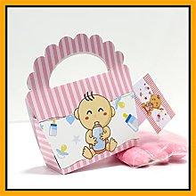 25+25 pezzi - Scatoline Portaconfetti Bomboniere