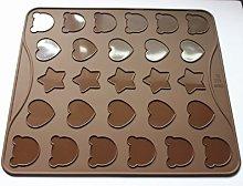 27-Cavity Cartoon Macarons Mat cottura stampo