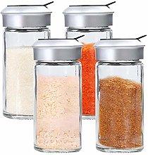 2pcs Glass Pepper Spice Shaker Sale Condimento del
