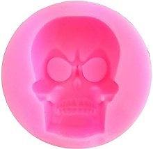 2pcs Halloween Skeleton Shape Silicone Stampo in