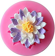 2pcs Silicone Cake Stampo Flower Fondant