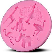 2pcs silicone fondente stampo cupcakes cupcakes