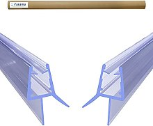 2pz Guarnizione Box Doccia Sottoporta in PVC per