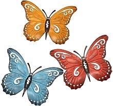 3 pezzi Farfalle Decorazione da parete Farfalla