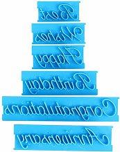 3 Set Lettera per la scrittura a mano Stampi per