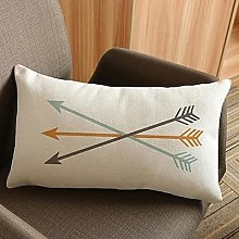 30*50 cm Federa Decorativa Freccia Creativa