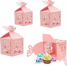 30 Rosa Scatola portaconfetti scatolina bomboniera