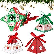 30Pcs Scatole Di Natale, Scatole di Caramelle
