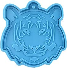 3168 Tigre Testa Portachiavi Stampo In Silicone