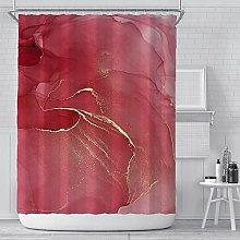 3D acquerello marmo stampa modello tenda bagno