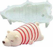 3D Animale Stampo in Silicone,Orso Polare