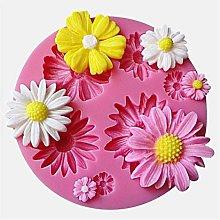 3d fiore stampi in silicone fondente torta