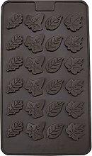 3D foglie figura forme torta in silicone stampo al