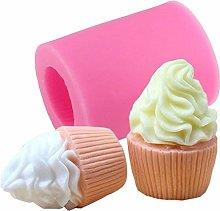 3D gelato cupcake sapone stampo sapone sapone