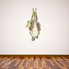 3D Murale Adesivo murale coniglietto coniglio