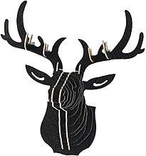 3D Parete Di Legno Modello Di Cervo Animale Appeso