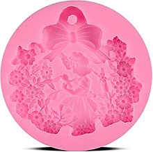 3D Princess Flower Shape Torta Stampo Silicone