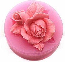 3D Rosa Fiore Cioccolato Stampo in Silicone