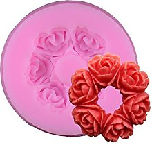 3D Rose Flower Fondente Torta Cioccolato