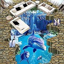 3D Sea World Foto Personalizzata Pavimento Carta