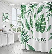3D stampato foglie di piante verdi fresche Tende