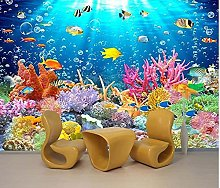 3D stereo mondo subacqueo delfino TV sfondo