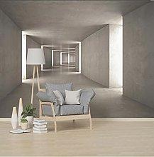 3D stereoscopico astratto spazio murale pittura