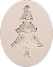 3D tema natalizio silicone fondente stampo torta