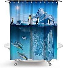 3D Tenda Doccia pinguino antartico Tende Doccia