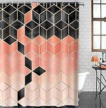 3D Tenda per Doccia Trama di marmo enda da doccia