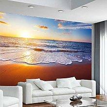 3D Tramonto Mare Surf Spiaggia Fantasia Paesaggio
