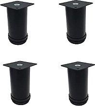 4 gambe mobili per sedia, tavolo, gambe mobili per