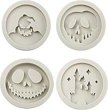 4 pezzi Silicone Resina Epossidica Stampo