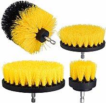 4 Pezzi Spazzola per Trapano Drill Brush Power