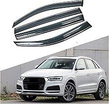4pcs Deflettori Vento Auto per Audi Q3 2011-2018,
