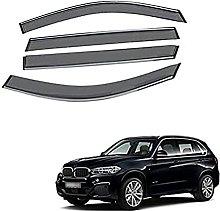 4pcs Deflettori Vento Auto per BMW X5 2012-2014,