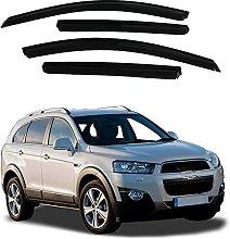 4pcs Deflettori Vento Auto per Chevrolet Captiva