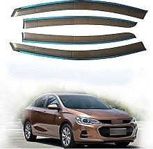 4pcs Deflettori Vento Auto per Chevrolet Cavalier