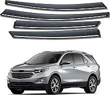 4pcs Deflettori Vento Auto per Chevrolet Equinox