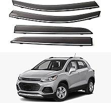 4pcs Deflettori Vento Auto per Chevrolet Trax 2019