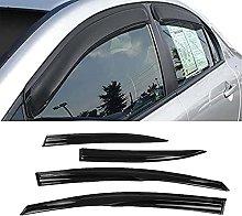 4pcs Deflettori Vento Auto per Civic 2006-2011,