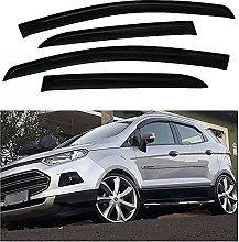 4pcs Deflettori Vento Auto per Ford Ecosport 2015