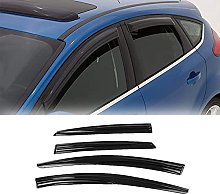 4pcs Deflettori Vento Auto per Ford Focus