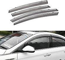 4pcs Deflettori Vento Auto per H-yundai Sonata