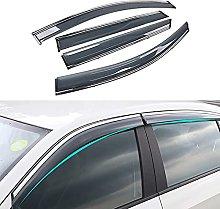 4pcs Deflettori Vento Auto per Hyundai Tucson 2016